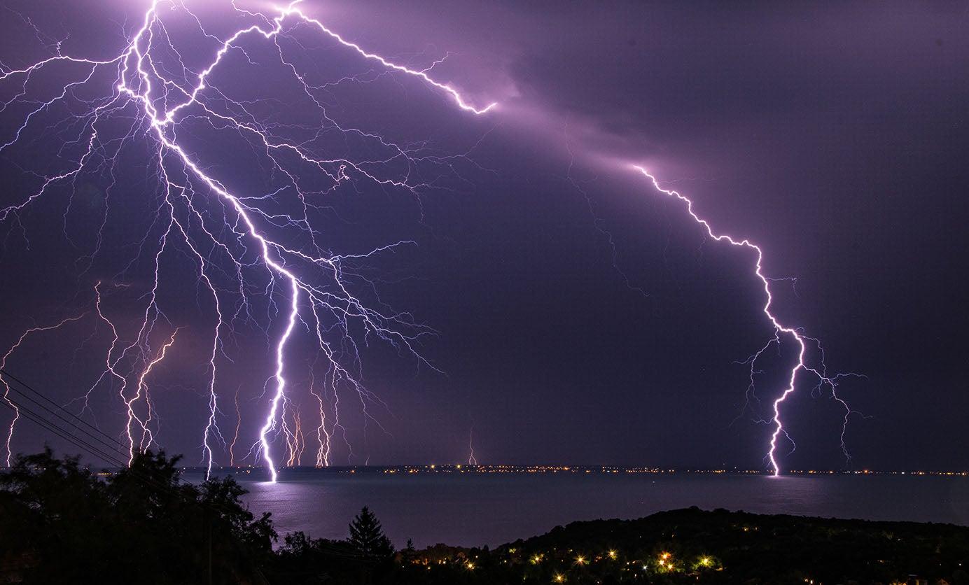 Severe Lightning Storm